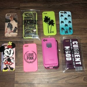 IPHONE 6 cases LIFEPROOF AND PINK